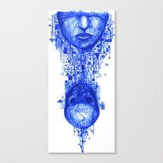 Seeing bones Canvas Print
