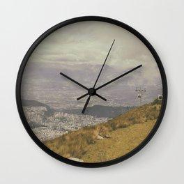 Teleferico Wall Clock