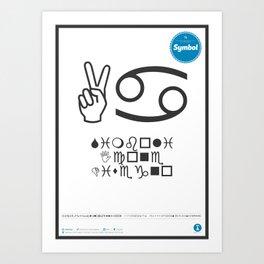 Classificazione: Symbol Art Print