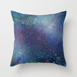 """""""Night of stars and dreams"""" Throw Pillow"""