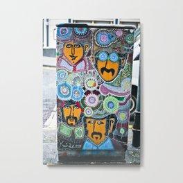 The Fab Four in Dublin Metal Print