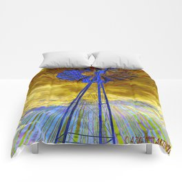 Trippin winds Comforters