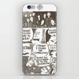 IT'S JUST A REFLEKTOR! iPhone Skin
