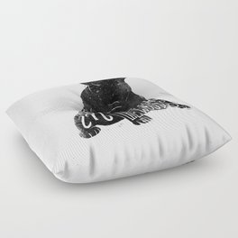 Wild Thing in the Woods Floor Pillow