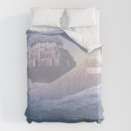 Castle in the Sky Comforters