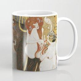 BEETHOVEN FRIEZE - GUSTAV KLIMT Coffee Mug