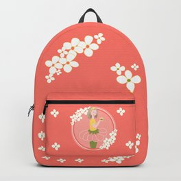 Flowers for this dreamgirl #flowers #dreams Backpack