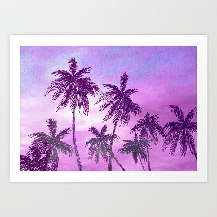 Palm Trees 3 Kunstdrucke