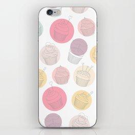CUPCAKE PATTERN 74 iPhone Skin