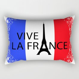 Vive la France. Bastille Day Rectangular Pillow