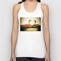 read Tank Tops featuring Read by Lawson Images