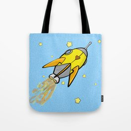 Rocket to Your Heart Tote Bag
