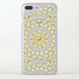Bijoux Mandala Clear iPhone Case