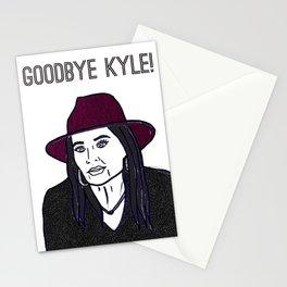 Goodbye Kyle Stationery Cards
