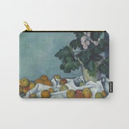 Still Life with Apples and a Pot of Primroses Carry-All Pouch
