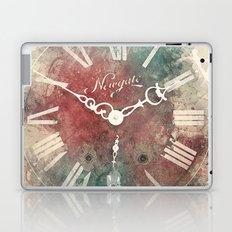 Old Clock Laptop & iPad Skin