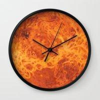 venus Wall Clocks featuring Venus by Terry Fan