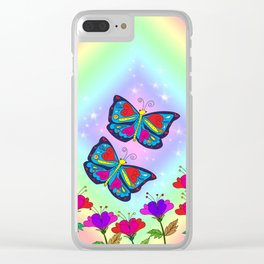 Love like a butterfly Clear iPhone Case