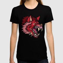 Crimson Wolf T-shirt