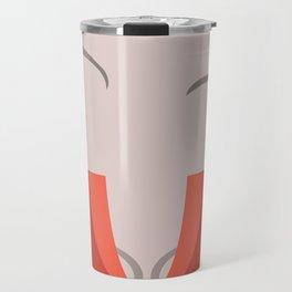 T'Pol - Vulcan - Minimalist - Star Trek: Enterprise - Trektangle - Trektangles - startrek minimalism Travel Mug