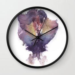 Verronica's Vulva Print No.2 Wall Clock