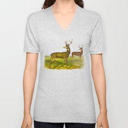 Columbian Black-tailed Deer Unisex V-Neck