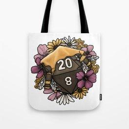 Honeycomb D20 Tabletop RPG Gaming Dice Tote Bag