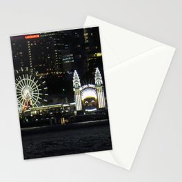 Luna Park by the Harbour Stationery Cards