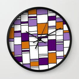 Poyple and Oynge Wall Clock