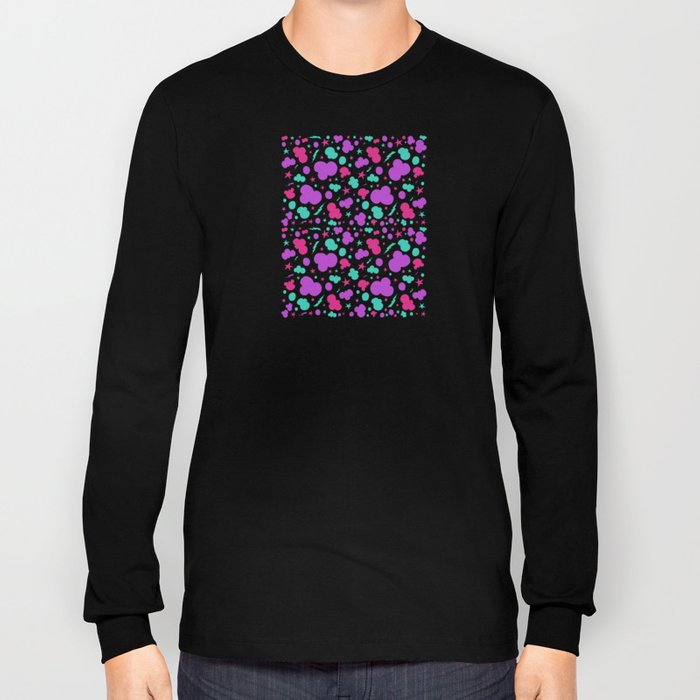 Colorful chaotic storm Long Sleeve T-shirt