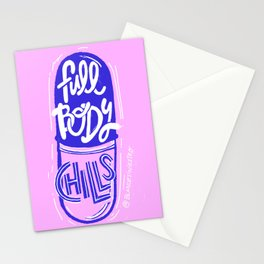 Full Body Chills Stationery Cards