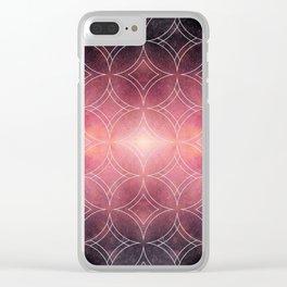 Geometric Tiles Design - Project 48 Clear iPhone Case