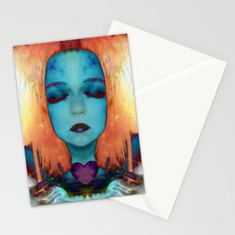 My fire will always burn bright Stationery Cards