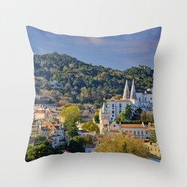 Sintra, evening light Throw Pillow
