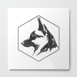 Canine Republic: GSD Metal Print