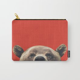 Bear - Red Carry-All Pouch