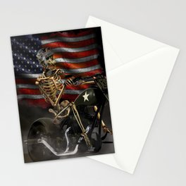 HELL'S BIKER Stationery Cards