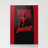 daredevil Stationery Cards featuring DareDevil by W.B.