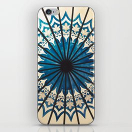 Blue orient  iPhone Skin