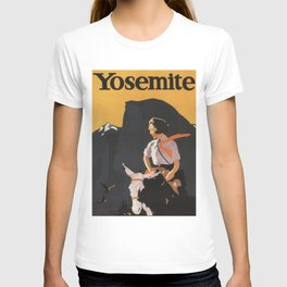 Retro Yosemite Travel Poster T-shirt