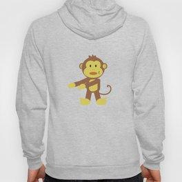Floss Dance Move Monkey Hoody