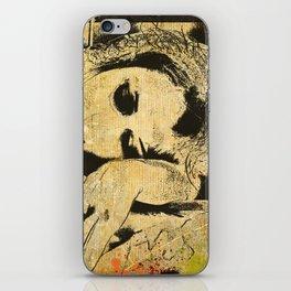 sleeping iPhone Skin