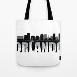 Orlando Silhouette Skyline Tote Bag