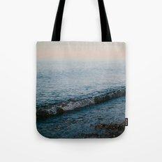 Dusk Waves // Upper Peninsula, Michigan Tote Bag