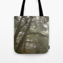 Misty Forest Branchscape Tote Bag