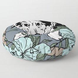 Renee~petportrait Floor Pillow
