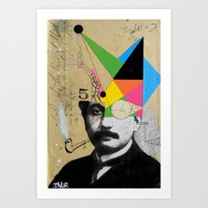 einstein for the lateral thinker Art Print