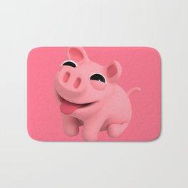 Rosa the Pig Happy Bath Mat