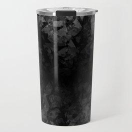 Abstract Radial Gradation Travel Mug
