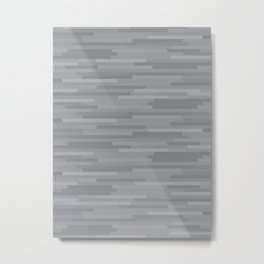 Grey Estival Mirage Metal Print